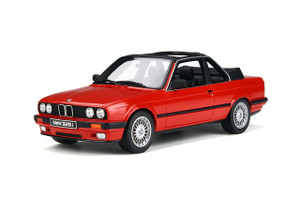 BMW E30 Baur Convertible Brilliant Rot Red Limited Edition 1500 pieces Worldwide 1/18 Model Car Otto Mobile OT767