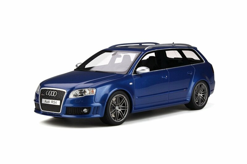 Audi RS4 B7 Sunroof Sepang Blue Limited Edition 999 pieces Worldwide 1/18 Model Car Otto Mobile OT785