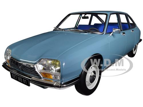 1972 Citroen GS Club Camargue Blue 1/18 Diecast Model Car Norev 181625