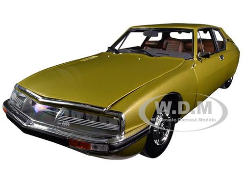 1971 Citroen SM Golden Leaf Gold 1/18 Diecast Model Car Norev 181730