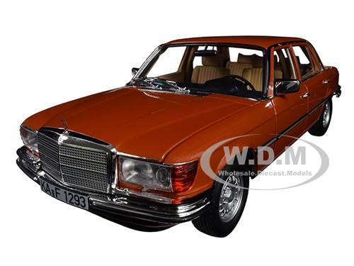 1976 Mercedes Benz 450 SEL 6.9 Metallic Orange 1/18 Diecast Model Car Norev 183459