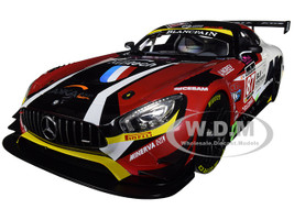 Mercedes AMG GT3 #87 Ricci Beaubelique Vannelet Team Akka Winners GT Series Monza 2016 1/18 Diecast Model Car Norev 183492