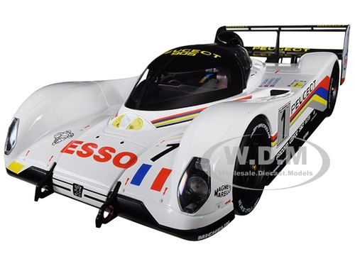 Peugeot 905 #1 Dalmas Warwick Blundell Winners 24 Hours Le Mans France 1992 1/18 Diecast Model Car Norev 184770