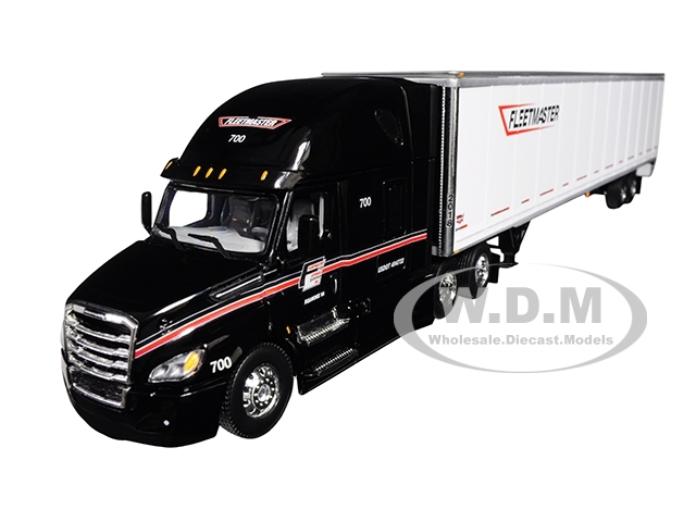 Freightliner Cascadia High Roof Sleeper Cab with 53' Wabash DuraPlate Dry  Goods Trailer