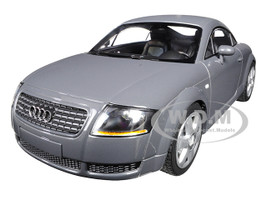 1998 Audi TT Coupe Metallic Gray Limited Edition 300 pieces Worldwide 1/18 Diecast Model Car Minichamps 155017020