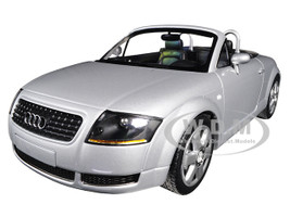 1999 Audi TT Roadster Silver Limited Edition 300 pieces Worldwide 1/18 Diecast Model Car Minichamps 155017031