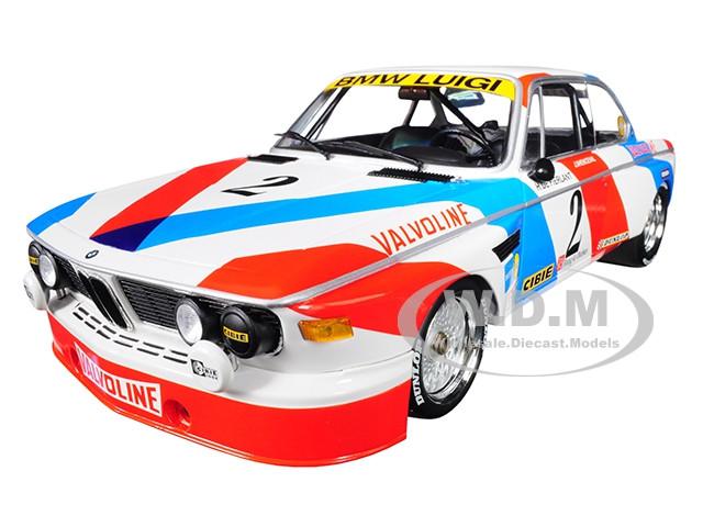 BMW 3.0 CSL #2 De Fierlant Xhenceval Winners 24 Hours SPA 1975 Luigi Racing Limited Edition 360 pieces Worldwide 1/18 Diecast Model Car Minichamps 155752602