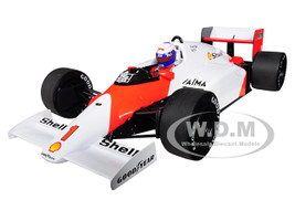 McLaren TAG MP4/2C #1 Alain Prost Shell World Champion 1986 1/18 Diecast Model Car Minichamps 530861801