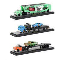 Auto Haulers Release 33 3 Trucks Set 1/64 Diecast Models M2 Machines 36000-33