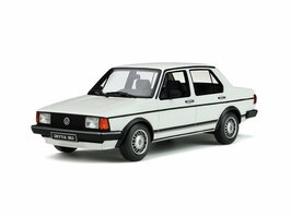 Volkswagen Jetta Mk1 GLi Alpine White Limited Edition 2000 pieces Worldwide 1/18 Model Car Otto Mobile OT291