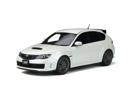 Subaru Impreza STI R205 Pure White Pearl Limited Edition 999 pieces Worldwide 1/18 Model Car Otto Mobile OT745