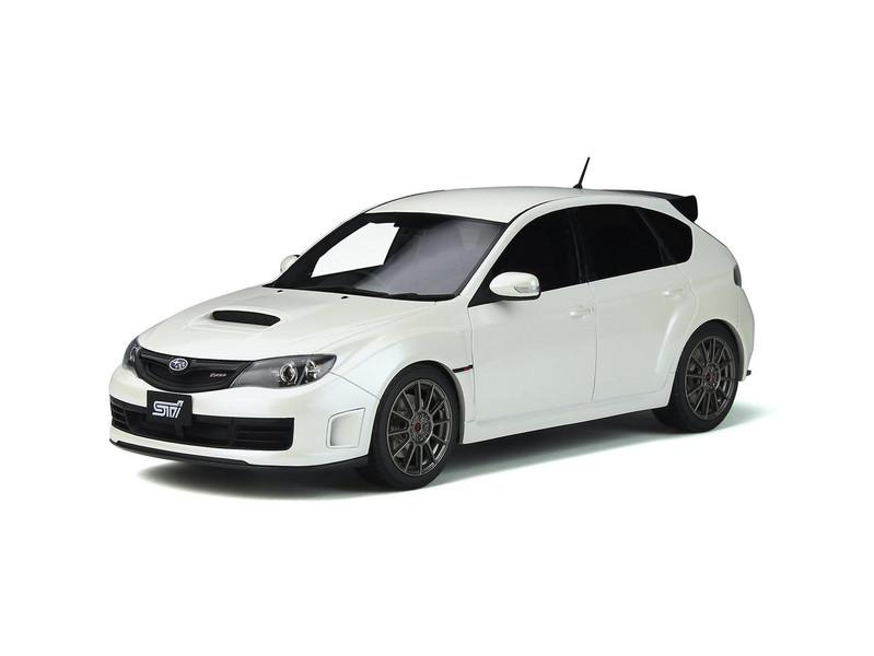 Subaru Impreza STI R205 Pure White Pearl Limited Edition 999 pieces Worldwide 1/18 Model Car Otto Mobile OT745
