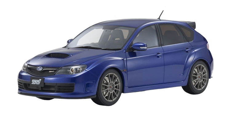 Subaru Impreza STI R205 Blue 1/18 Model Car Otto Mobile Kyosho OTM723