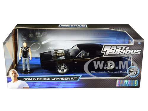 1:24 Model JADA TOYS Fast /%26 Furious Dom/'s Dodge Charger street
