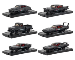 Drivers 6 Cars Set Release 57 Blister Packs 1/64 Diecast Model Cars M2 Machines 11228-57