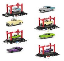 Model Kit 4 piece Car Set Release 24 1/64 Diecast Model Cars M2 Machines 37000-24