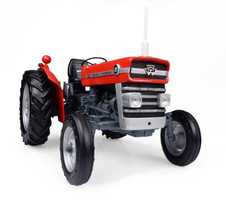 Massey Ferguson 135 Tractor without Cabin 1/16 Diecast Model Universal Hobbies UH2698