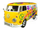 Volkswagen Type 2 T1 Delivery Van Flower Power 1/24 Diecast Model Car Motormax 79575
