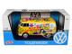 Volkswagen Type 2 T1 Delivery Van Flower Power 1/24 Diecast Model Car Motormax 79575