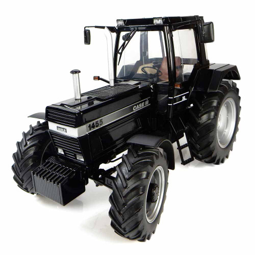 Case IH 1455XL Tractor Black Edition Limited Edition 1000 pieces Worldwide 1/16 Diecast Model Universal Hobbies UH4205