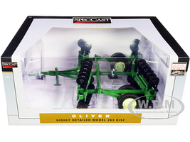 Oliver 263 Disc Harrow Folding Wings Classic Series 1/16 Diecast Model Speccast SCT690