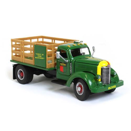International KB-8 Oliver Stake Bed Truck Green 1/50 Diecast Model Speccast SCT706