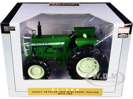 Oliver 1800 Wide Front Tractor with Front Wheel Assist 1/16 Diecast Model Speccast SCT708