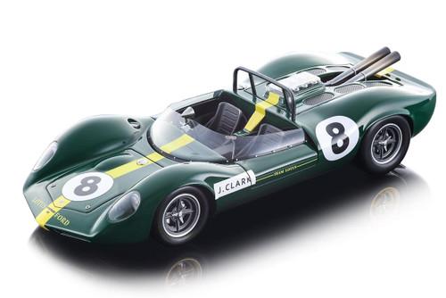 Lotus 40 #8 Jim Clark 1965 British GP F1 British Grand Prix Formula One Mythos Series Limited Edition 160 pieces Worldwide 1/18 Model Car Tecnomodel TM18-125 A