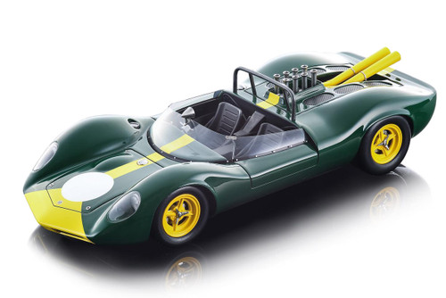 1965 Lotus 40 Press Version Green Mythos Series Limited Edition 90 pieces Worldwide 1/18 Model Car Tecnomodel TM18-125 C