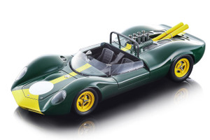 1965 Lotus 40 Press Version Green Mythos Series Limited Edition 90 pieces Worldwide 1/18 Model Car Tecnomodel TM18-125 C