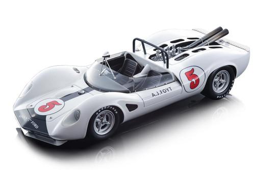 Lotus 40 #5 AJ Foyt 1965 Riverside Grand Prix Mythos Series Limited Edition 120 pieces Worldwide 1/18 Model Car Tecnomodel TM18-125 D