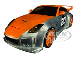 2003 Nissan 350Z #20 Raw Metal Orange Option D Jada 20th Anniversary 1/24 Diecast Model Car Jada 31071