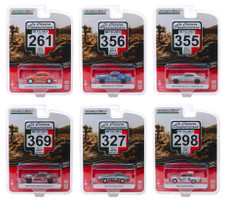 La Carrera Panamericana Series 1 Set 6 pieces 1/64 Diecast Model Cars Greenlight 13240