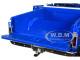 1970 Chevrolet C-10 Pickup Truck Lift Kit Dark Blue White Top 1/18 Diecast Model Car Highway 61 18011