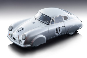 Porsche 356 SL #47 Rudolph Sauerwein Robert Brunet Le Mans 24H 1951 Mythos Series Limited Edition 80 pieces Worldwide 1/18 Model Car Tecnomodel TM18-95 B