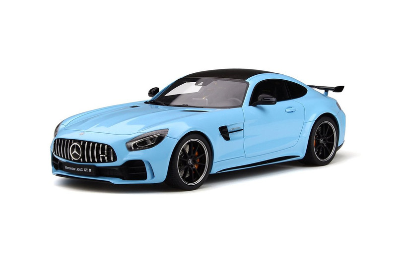 Mercedes Amg GT-R China Blue Black Top Limited Edition 999 pieces Worldwide 1/18 Model Car GT Spirit GT787