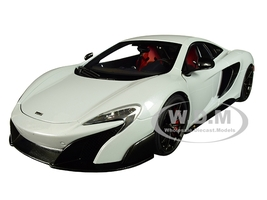McLaren 675LT Silica White 1/18 Model Car Autoart 76046