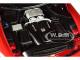Mercedes AMG GT R AMG Designo Cardinal Red Metallic Carbon Top 1/18 Model Car Autoart 76331