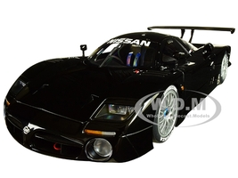 Nissan R390 GT1 Le Mans 1998 Gloss Black Signature Series 1/18 Diecast Model Car Autoart 89878