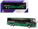 MCI D45 CRT LE Coach AC Transit Bus Transbay Express San Francisco Green 1/87 Diecast Model Iconic Replicas 87-0099