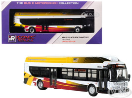 New Flyer Xcelsior Transit Bus 22 Bayview Baltimore MTA Maryland Department Transportation 1/87 Diecast Model Iconic Replicas 87-0132