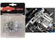 Twin Turbo Boss 429 Drag Engine Transmission Replica 1969 Ford Mustang Gasser The Boss 1/18 Model GMP 18914