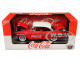 1957 Chevrolet Bel Air Hardtop Coca-Cola Red Limited Edition 9600 pieces Worldwide 1/24 Diecast Model Car M2 Machines 50300-RW03