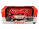 1952 Volkswagen Beetle Deluxe Model Coca Cola Red White Limited Edition 9600 pieces Worldwide 1/24 Diecast Model Car M2 Machines 50300-RW04