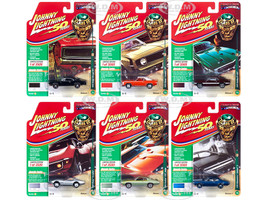Muscle Cars USA 2019 Release 1 Set B 6 Cars Class 1969 1/64 Diecast Models Johnny Lightning JLMC019 B