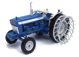 Ford 5000 Metal Cage Wheels Tractor Limited Edition 1500 pieces Worldwide 1/32 Diecast Model Universal Hobbies UH4879