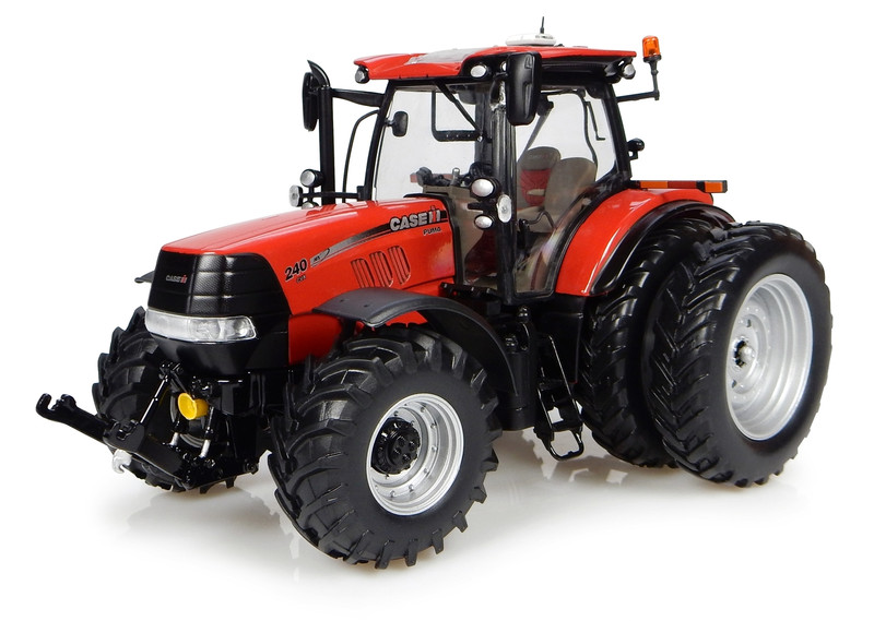 Case IH Puma CVX 240 Dual Wheels Tractor North American Version 1/32 Diecast Model Universal Hobbies UH4961