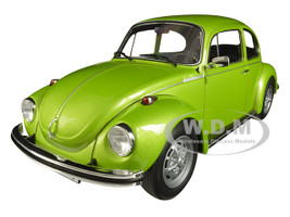 1973 Volkswagen Beetle 1303 Metallic Green 1/18 Diecast Model Car Norev 188523