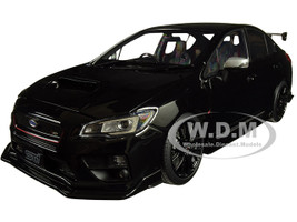 Subaru S207 NBR Challenge Package RHD Right Hand Drive Black 1/18 Diecast Model Car SunStar 5553