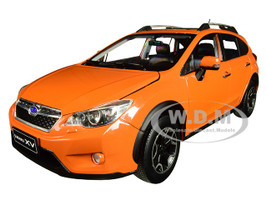 2014 Subaru XV Sunroof Tangerine Orange 1/18 Diecast Model Car SunStar 5571
